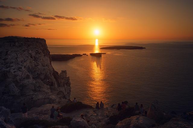 Sunset, Waters, Dusk, Dawn, Sea, Sky, Evening, Sun