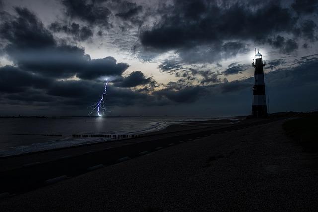 Flash, Thunder, Forward, Nature, Weather, Sky, Night
