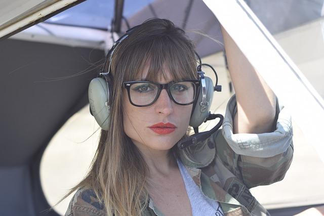 Aircraft, Women, Fashion, Pilot, Sky, Flight