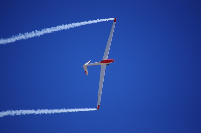 Glider, Flight, Blue Sky, Gliding, Sky