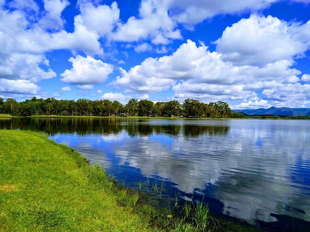 Nature, Lake, Sky
