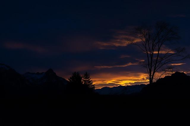 Landscape, Sunrise, Sky, Lighting, Weather Mood