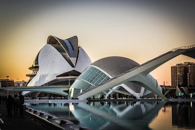 Travel, City, Body Of Water, Modern, Architecture, Sky