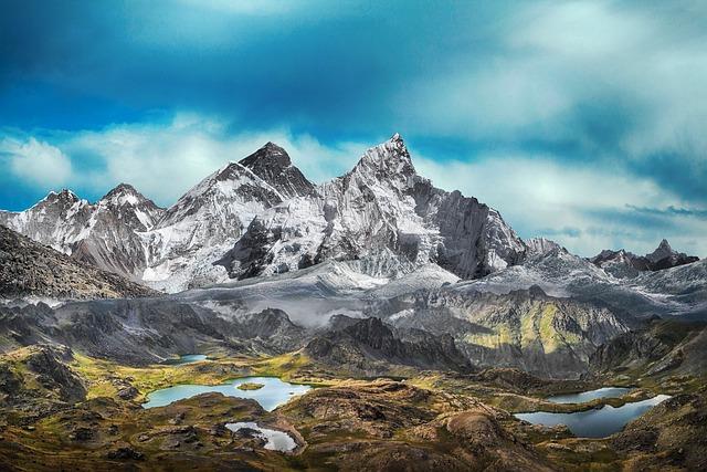 Mountain, Snow, Landscape, Gaps, Nature, Sky