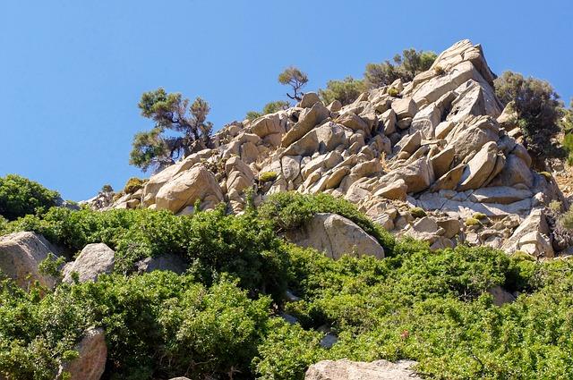 Nature, Travel, Tree, Summer, Stone, Sky, Mountain