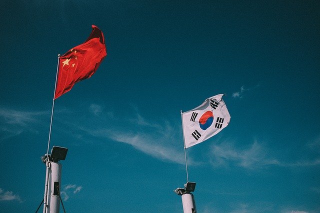 Sky, Flag, Nami, People's Republic Of China