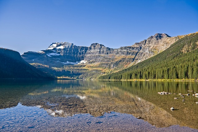 Nature, Mountain, Waters, Landscape, Lake, Sky, Travel