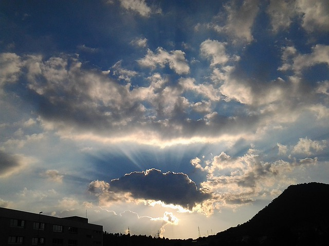 Sky, Nuve, Sunset