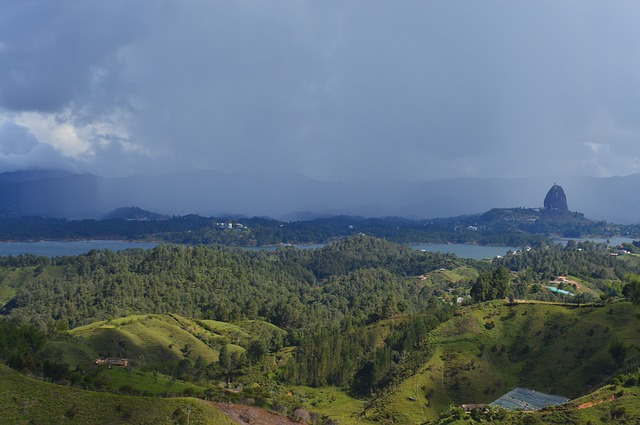 Mountain, Landscape, Panoramic, Nature, Sky, Colombia