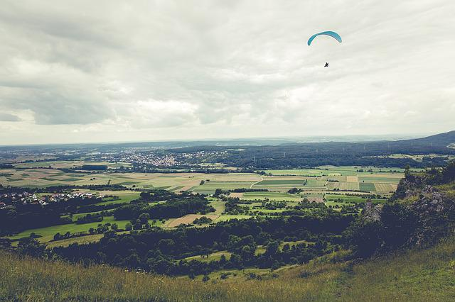 Paragliding, Fly, Float, Sky, Paraglider, Freedom