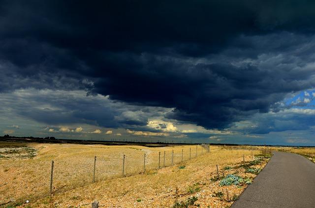 Storm, Sky, Rain, Clouds