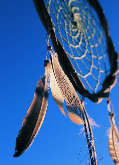 Dreamcatcher, Sky, Blue, Rays Of Sunshine