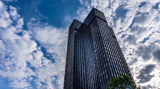 Architecture, Sky, Skyscraper, City, Large, Building