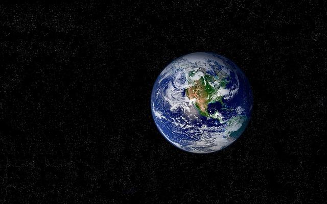 Land, Planet, Cosmos, Stars, Sky