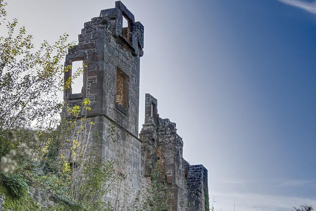 Castle, Burgruine, Ruin, Substantiate, Masonry, Sky