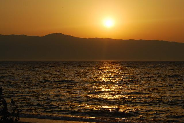 Beach, Sea, Sunset, Summer, Sky, Calabria
