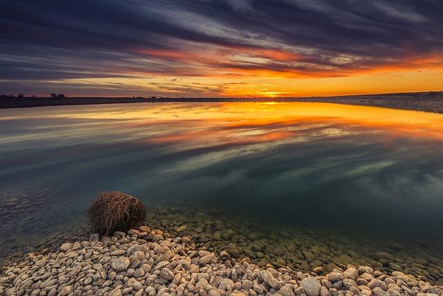 Sunset, Dawn, Sky, Nature, Landscape, Outdoors, Sun