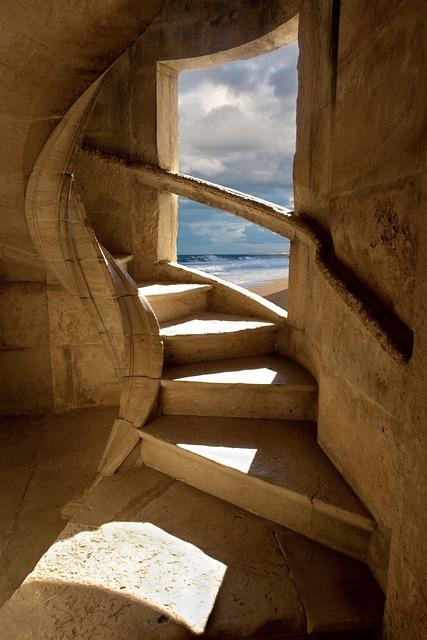 Window, Pierre, Sky, Travel, Staircase