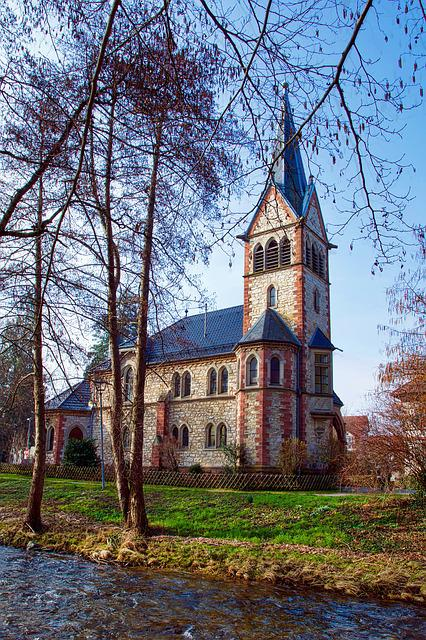 Architecture, Church, Sky, Tree, Old, Building