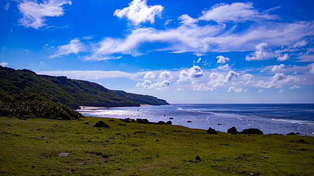 Sea, Sky, Cloud, Okinawa, Summer, Landscape, Vacation