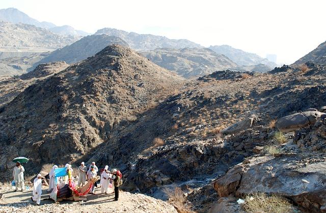 Hajj, View, Mountains, Sky, Cloud, Mountain, Nature