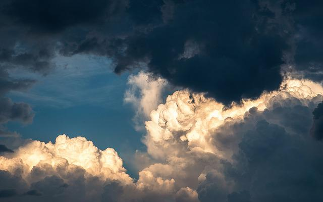 Clouds, Sky, Weather, Thunderstorm, Cumulus, Nature