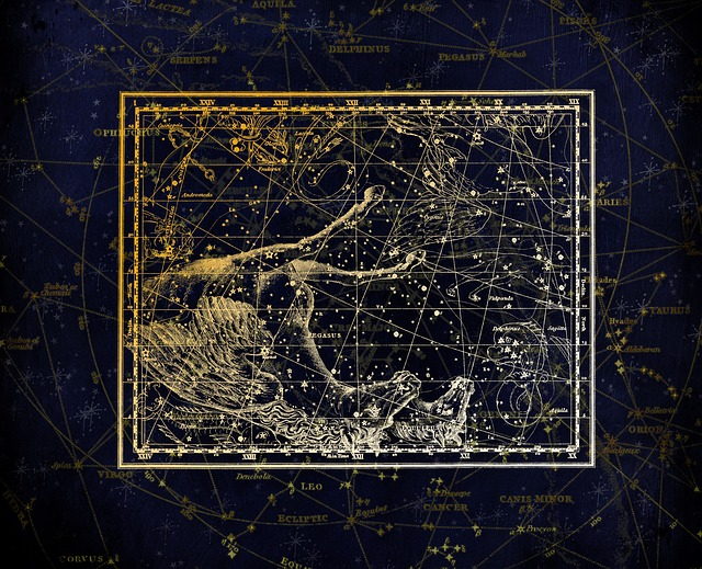 Constellation, Constellation Map, Zodiac Sign, Sky