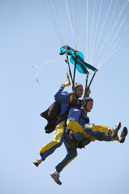 Parachute, Skydiving, Fly, Paratrooper, Pleasure, Jump
