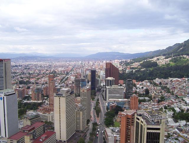 Bogota, Colombia, Architecture, Skyline, City