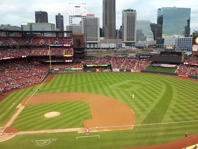 Baseball, St Louis, Skyline, Missouri, Stadium, Archway