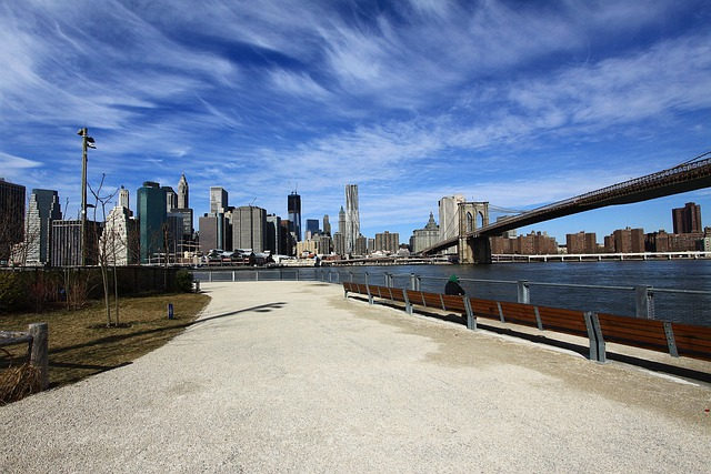 New, York, City, Manhattan, Island, Skyline, Brooklyn