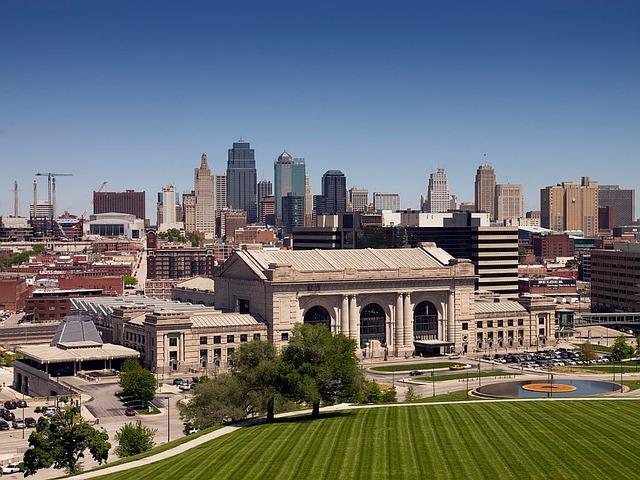 Kansas City, Missouri, Cityscape, Urban, Skyline