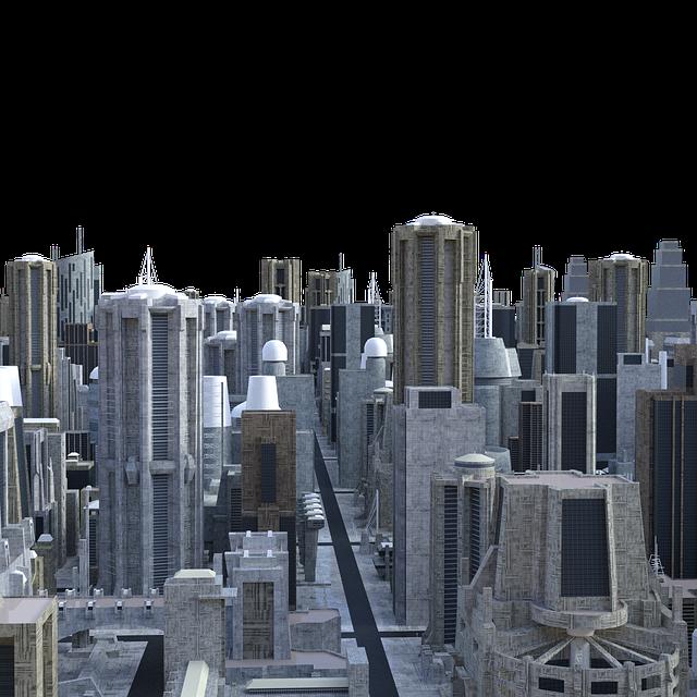 Skyline, Future, City Of The Future, Architecture