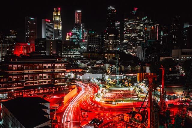 Singapore, City, Urban, Skyline, Architecture