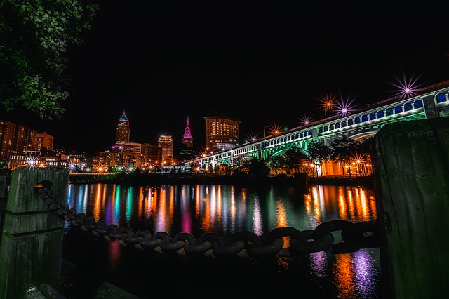 Cleveland, Ohio, City, Urban, Cityscape, Skyline