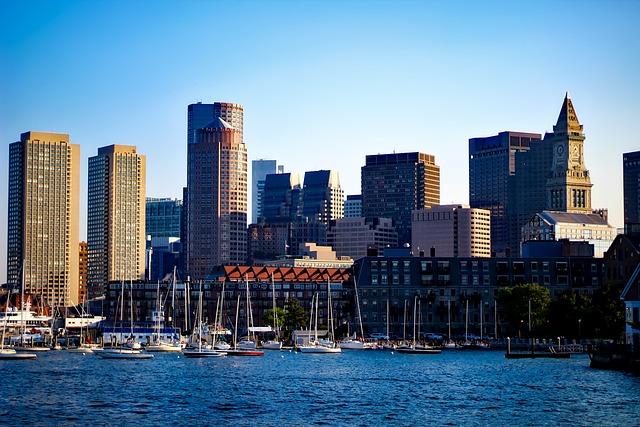 Boston, Massachusetts, City, Urban, Skyline, Cityscape