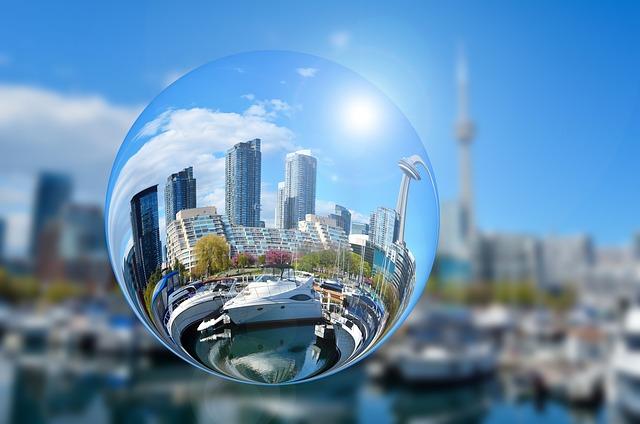 Toronto, Canada, Tower, Skyscraper, Building, Skyline