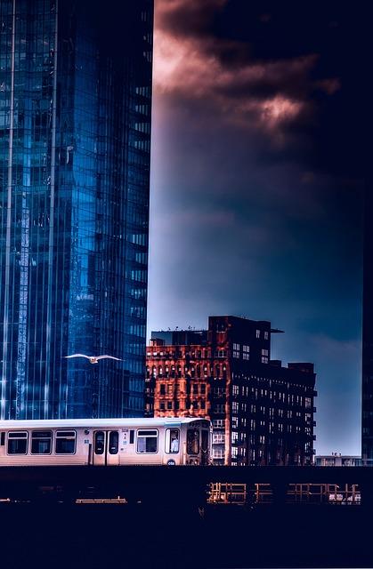 Chicago, Illinois, Skyscraper, Downtown, Architecture