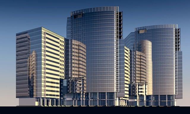 Skyscraper, Skyscrapers, Building, Architecture, City