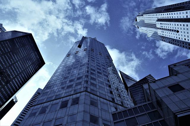 Architecture, City, Skyscraper, Office, Building, Sky