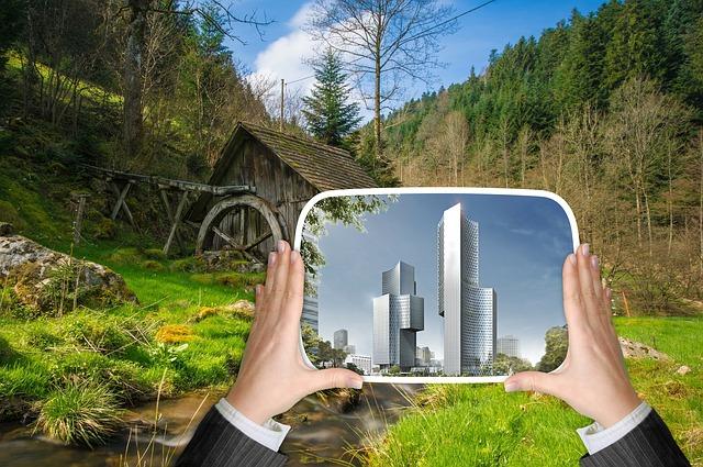 City, Urban Development, Nature, Skyscraper, Building