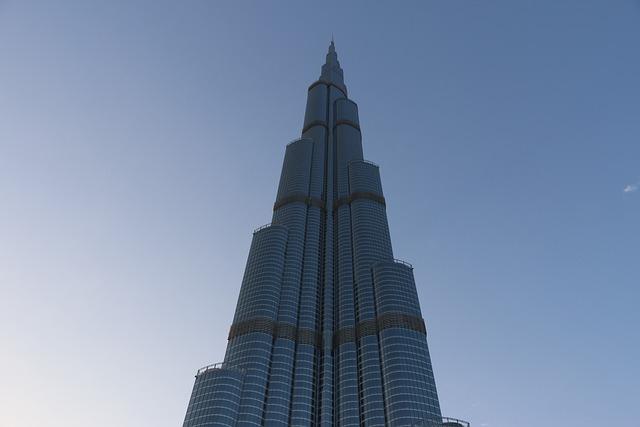 Burj Kalifa, Dubai, Skyscraper, City, Skyscrapers