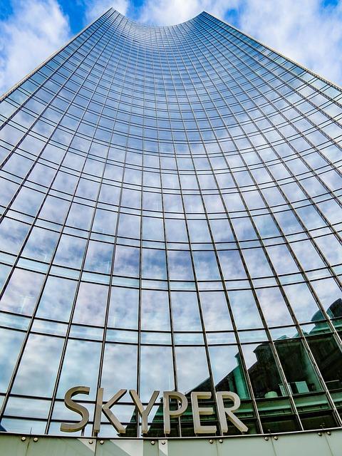 Frankfurt Main, Skyper, Skyscraper, Glass, Architecture