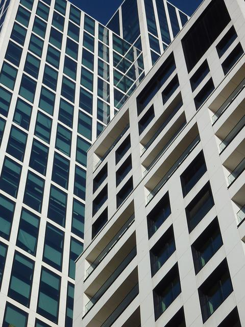 Glass, Architecture, Skyscraper, Large, Window