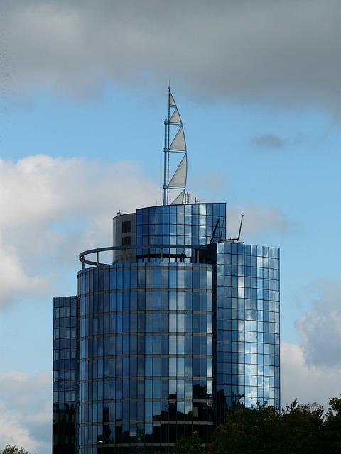 Bülow Tower, Skyscraper, Stuttgart, Landmark