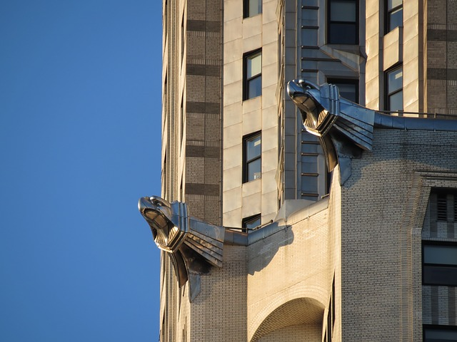 Chrysler Building, Gargoyles, New York, Skyscraper