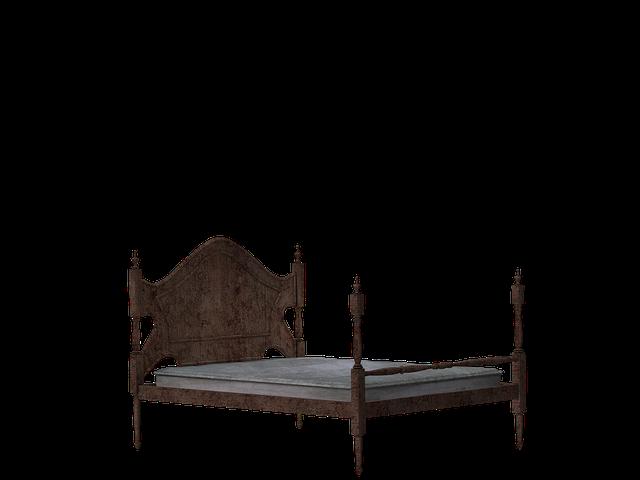 Bed, Wooden Bed, Rest, Sleep, Mattress, Digital Art
