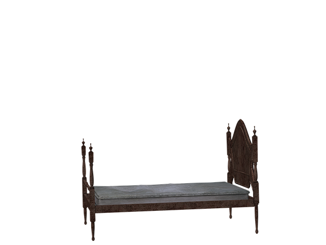 Bed, Wooden Bed, Rest, Sleep, Mattress, Digital Art
