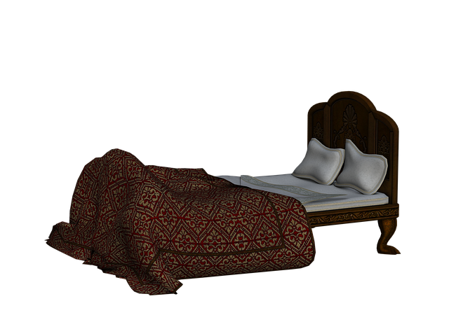 Bed, Pillow, Zudeck, Wooden Bed, Rest, Sleep