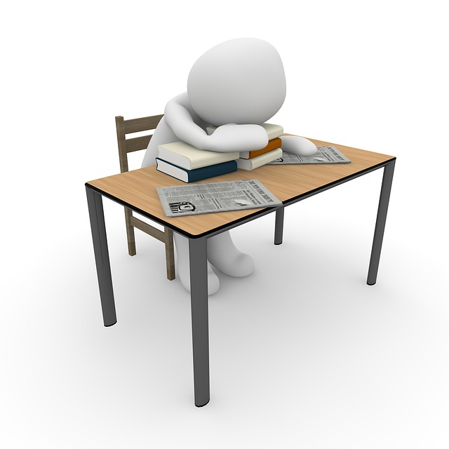 Work, Study, Sleep, Stress, Exhaustion